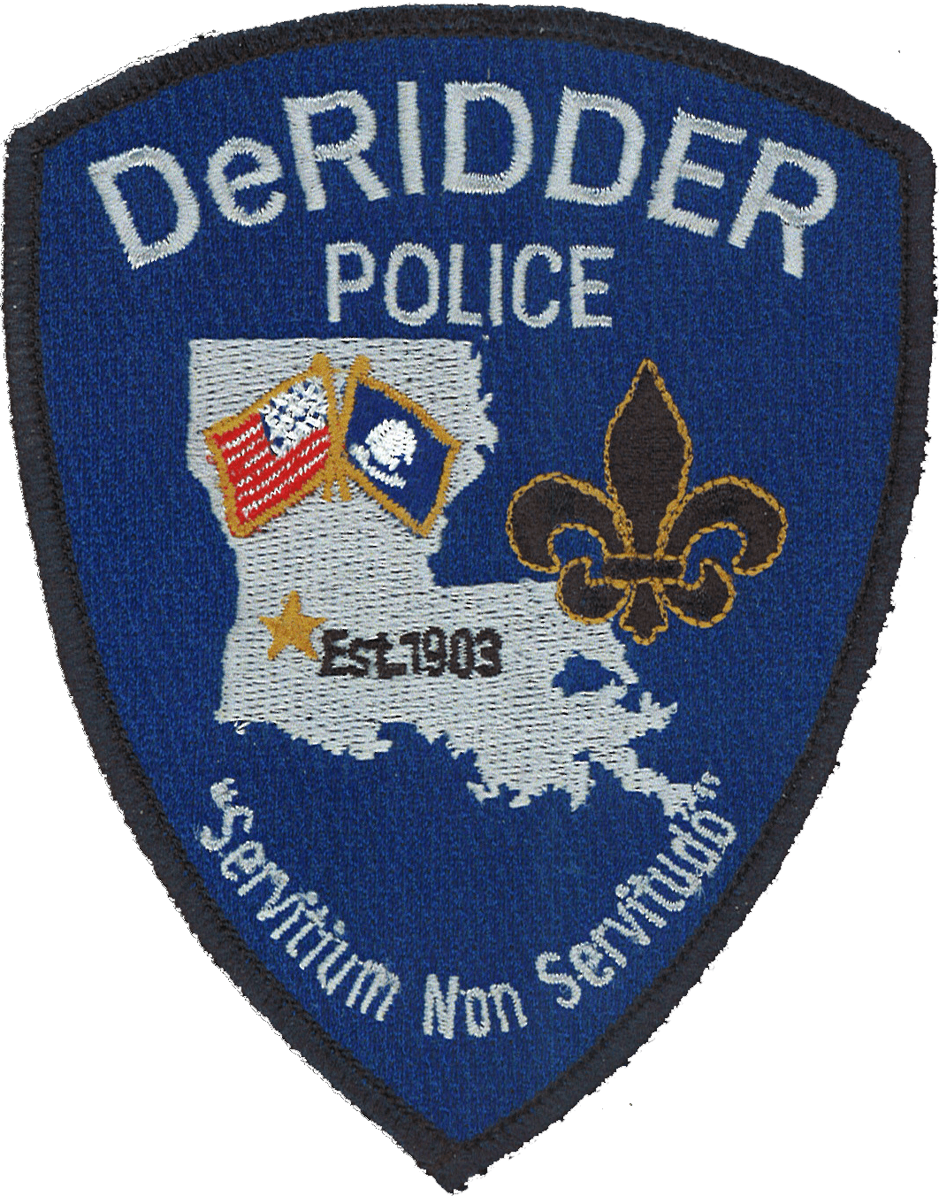 DeRidder Police Patch