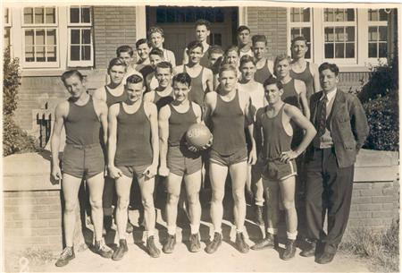1945 - 46 Basketball Team