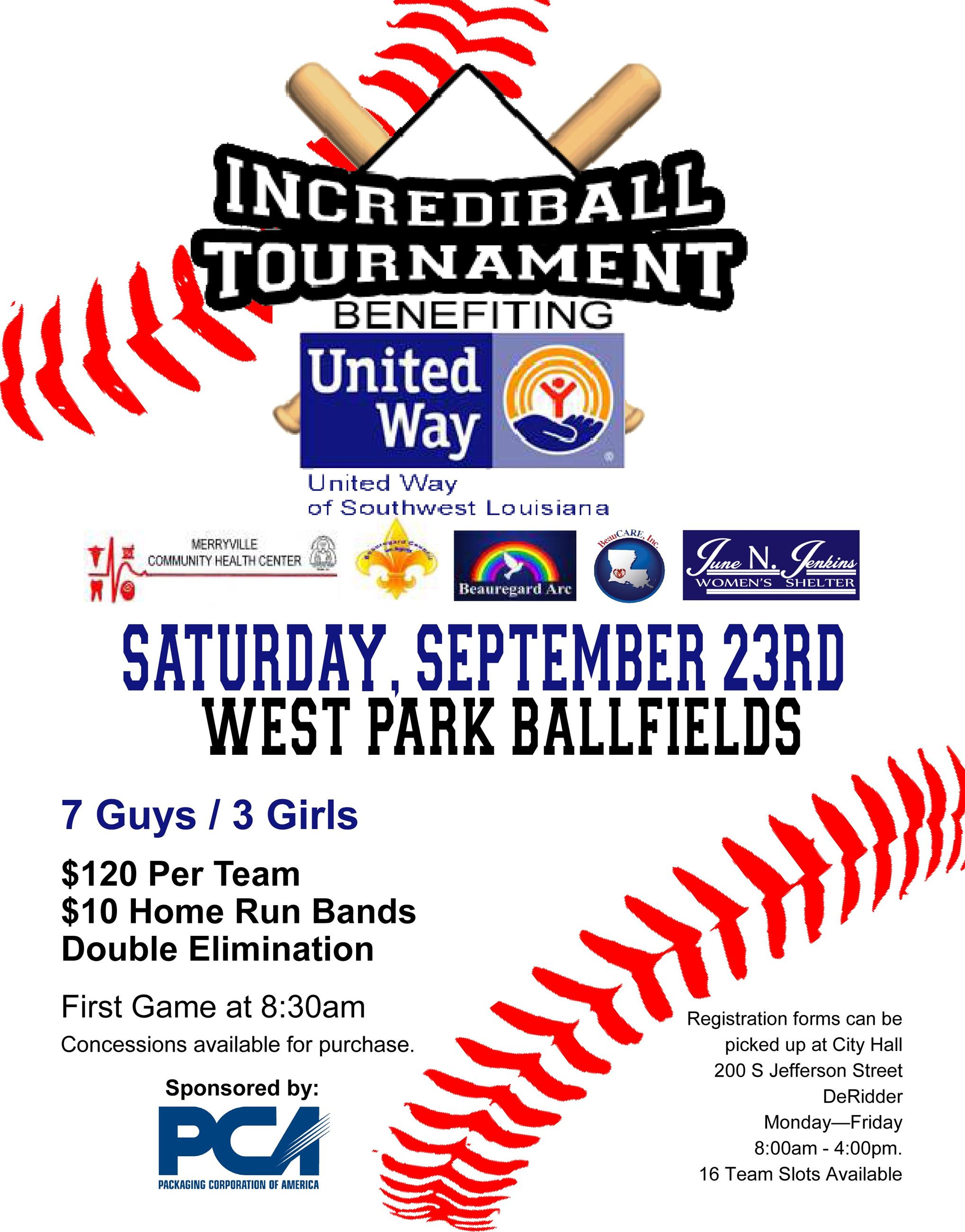 incrediball tournament flyer