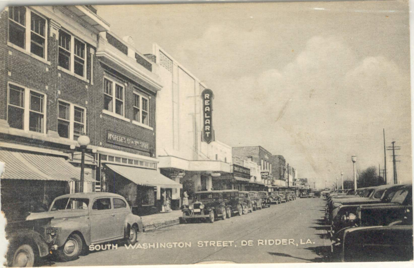 Downtown District in 1941