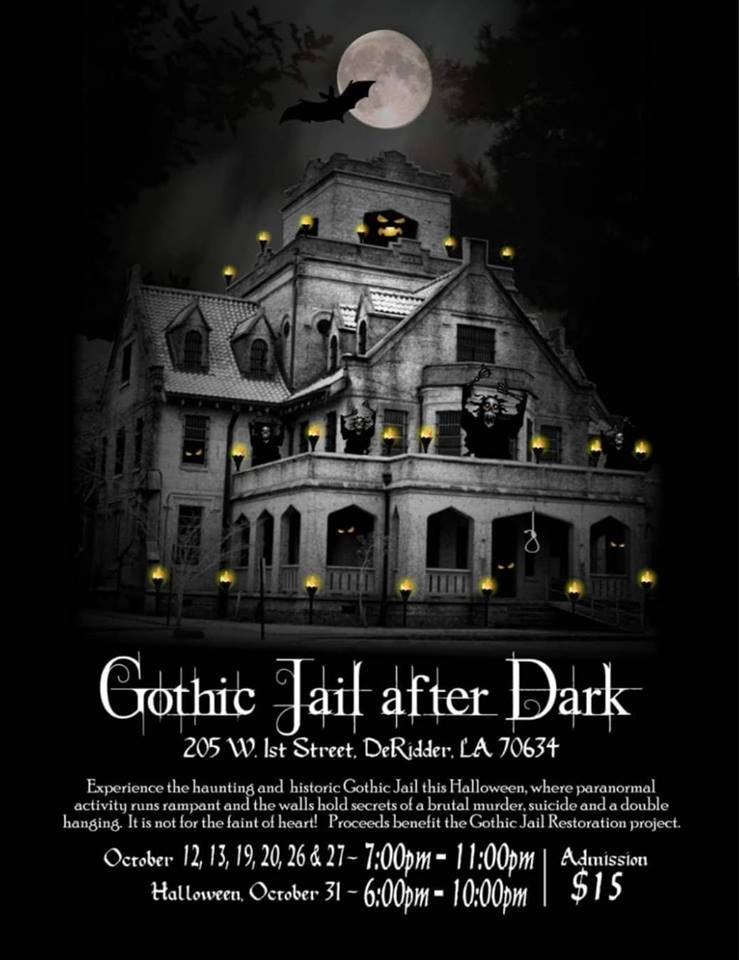 gothic jail after dark 2018