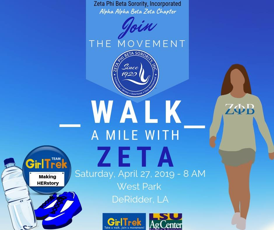 zeta walk a mile april 27