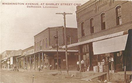 Downtown in 1911