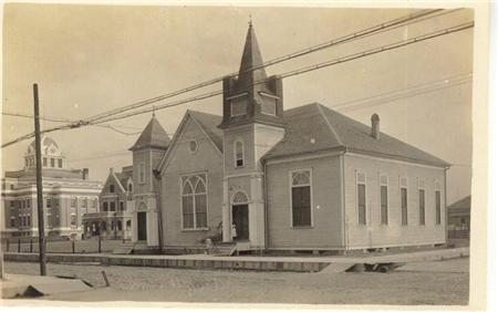 1st Baptist and Old Jail